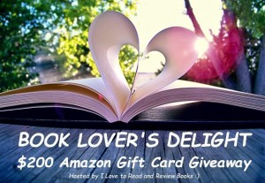 Book Lover's Delight Amazon Gift Card Giveaway